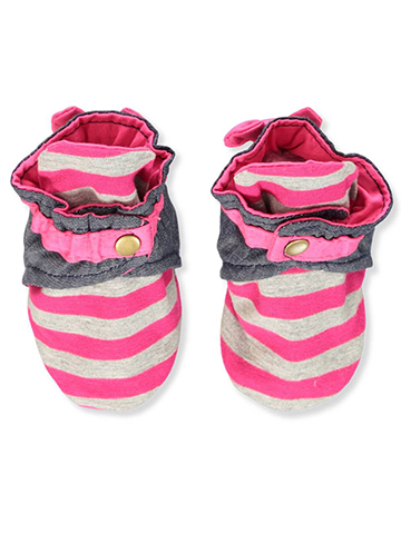 Trimfit Baby Girls' Baby Slippers - CookiesKids.com