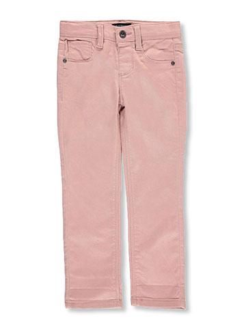 "Squeeze Little Girls' ""Ridged Hardware"" Skinny Pants (Sizes 4 – 6X) - CookiesKids.com"