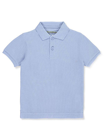 Universal Unisex S/S Pique Polo (Sizes 4 - 7) - CookiesKids.com