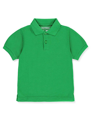Universal Unisex S/S Pique Polo (Sizes 2T – 4T) - CookiesKids.com