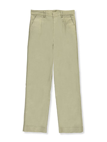 Universal Big Boys' Pleated Front Pants (Sizes 8 - 20) - CookiesKids.com