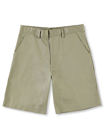 Universal Husky  Flat Front Unisex Shorts (Sizes 10H - 20H) - CookiesKids.com