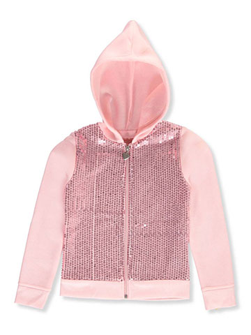 Colette Lilly Big Girls' Sequined Hoodie (Sizes 7 – 16) - CookiesKids.com