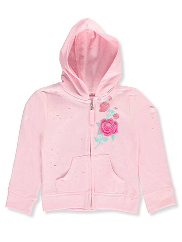 Star Ride Little Girls' French Terry Hoodie (Sizes 4 – 6X) - CookiesKids.com