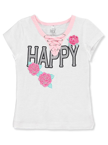 Star Ride Little Girls' T-Shirt (Sizes 4 – 6X) - CookiesKids.com