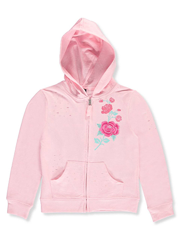 Star Ride Big Girls' French Terry Hoodie (Sizes 7 – 16) - CookiesKids.com
