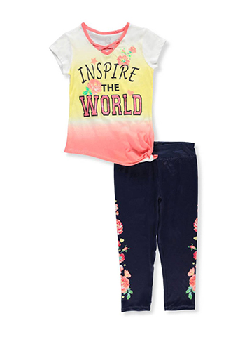 Star Ride Girls' 2-Piece Pants Set Outfit - CookiesKids.com