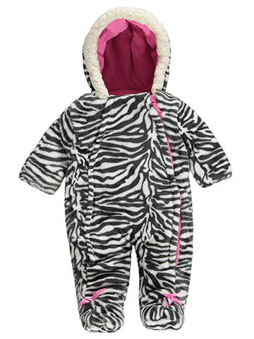 "Weatherproof Baby Girls' ""Plush & Bows"" Pram Suit - CookiesKids.com"
