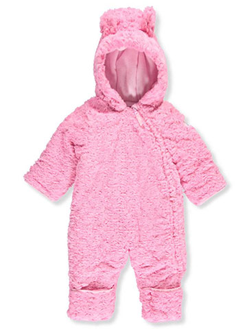 Weatherproof Baby Girls' Faux Fur Pram Suit - CookiesKids.com