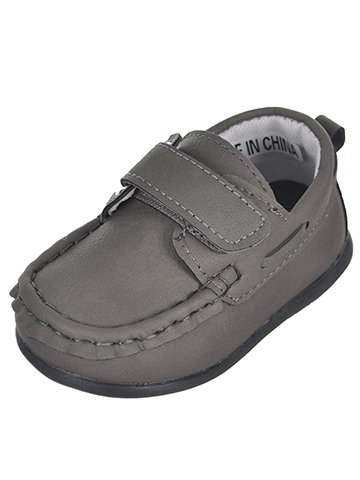 "Tendertoes Baby Boys' ""Oscar"" Boat Shoe Booties - CookiesKids.com"