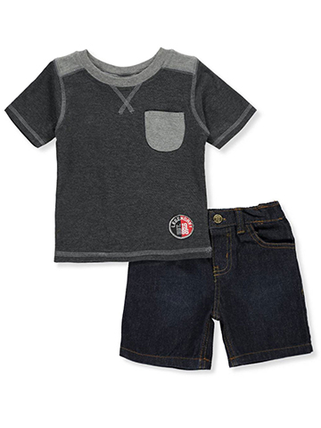 Tuff Guys Baby Boys' 2-Piece Short Set Outfit - CookiesKids.com