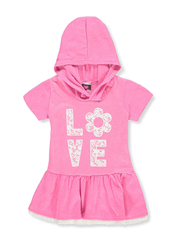 Diva Baby Girls' Hooded Dress - CookiesKids.com