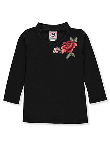 Dream Girl Big Girls' L/S Top (Sizes 7 – 16) - CookiesKids.com