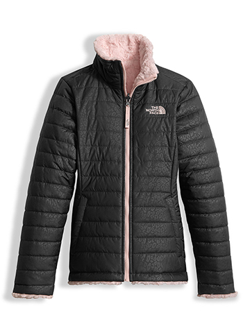 The North Face Youth Girls' Reversible Mossbud Jacket (Sizes S – XL) - CookiesKids.com