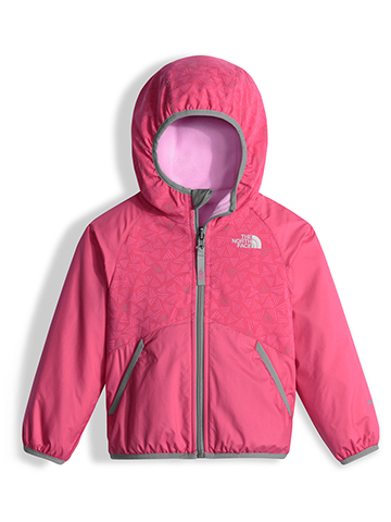 The North Face Little Girls' Toddler Reversible Breezeway Wind Jacket (Sizes 2T – 4T) - CookiesKids.com