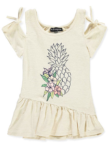 Kidtopia Baby Girls' Cold Shoulder Dress - CookiesKids.com