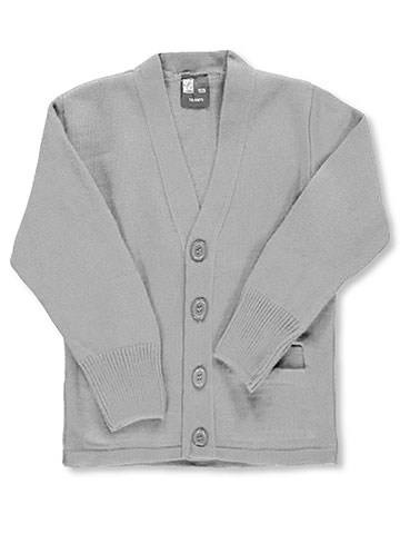 T.Q. Knits Unisex Control-Pil 4-Button Cardigan (Sizes 2 - 7) - CookiesKids.com