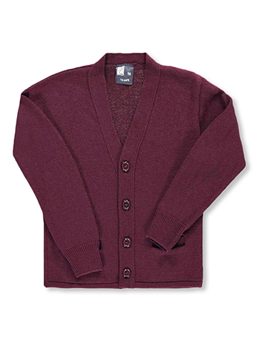 T.Q. Knits Unisex Control-Pil 4-Button Cardigan (Sizes 8 - 20) - CookiesKids.com