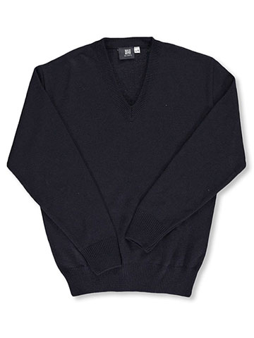 T.Q. Knits Men's Control-Pil V-Neck Sweater (Adult Sizes S - XL) - CookiesKids.com