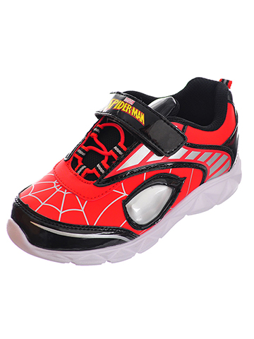 Spider-Man Boys' Light-Up Sneakers (Sizes 7 – 12) - CookiesKids.com