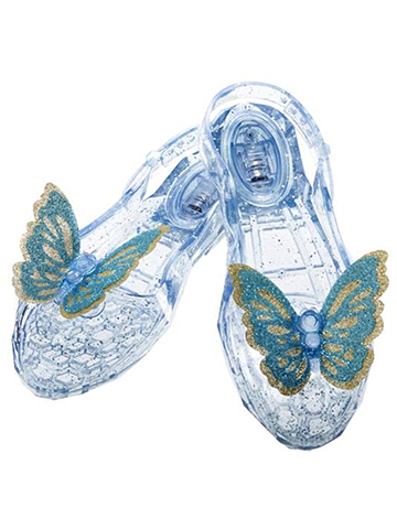 Cinderella Enchanted Waltz Light Up Glass Slippers Costume - CookiesKids.com
