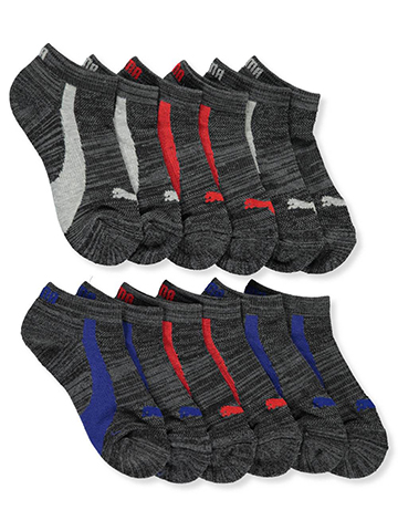 Puma Boys' 6-Pack Low-Cut Socks - CookiesKids.com