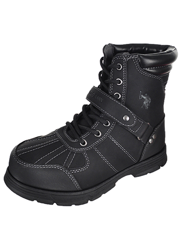 U.S. Polo Assn. Boys' Connor Boots (Youth Sizes 13 – 6) - CookiesKids.com