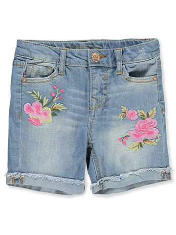 Vigoss Girls' Denim Bermuda Shorts - CookiesKids.com