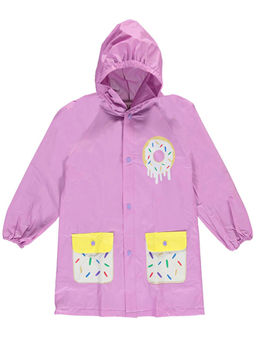 "Famous Brand Little Girls' ""Sweet Sprinkles"" Rain Jacket (Sizes 4 – 6X) - CookiesKids.com"