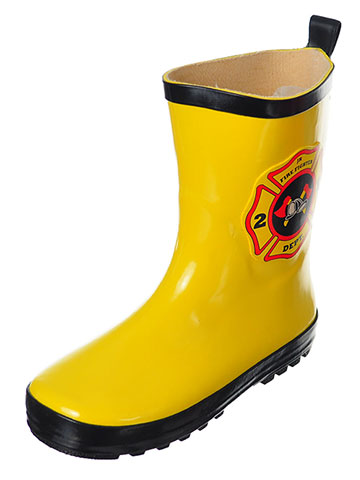 Wippette Boys' Rain Boots (Sizes 7 – 10) - CookiesKids.com