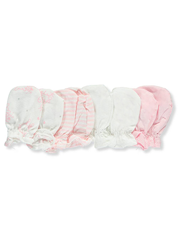 Mary Jane & Buster Baby Girls' 4-Pack Mittens - CookiesKids.com