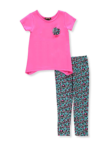 New Chic Girls' 2-Piece Pants Set Outfit - CookiesKids.com