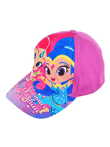 Shimmer and Shine Girls' Baseball Cap (Toddler One Size) - CookiesKids.com