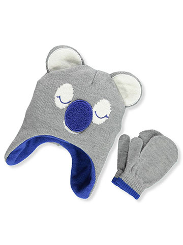 Addie & Tate Boys' Beanie & Mittens Set (Toddler One Size) - CookiesKids.com