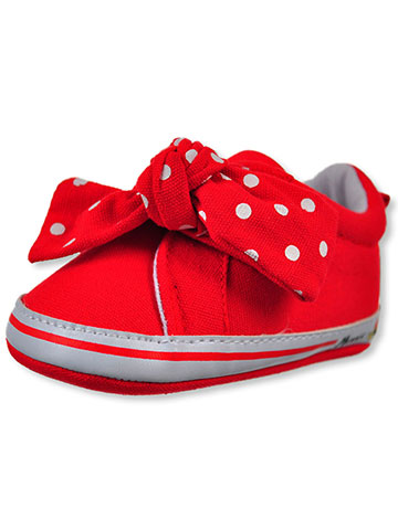 Disney Minnie Mouse Baby Girls' Slip-On Sneaker Booties - CookiesKids.com