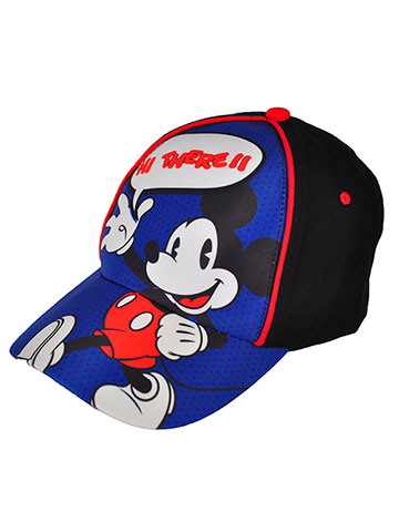 Disney Mickey Mouse Baseball Cap (Youth One Size) - CookiesKids.com