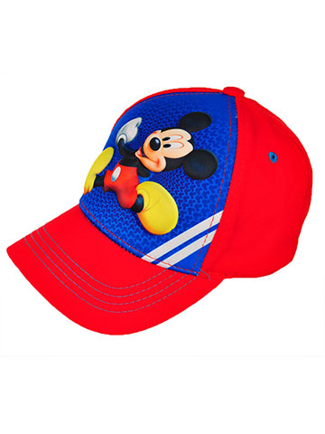 Disney Mickey Mouse Snapback Cap (Youth One Size) - CookiesKids.com
