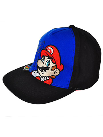 Super Mario Snapback Cap (Youth One Size) - CookiesKids.com