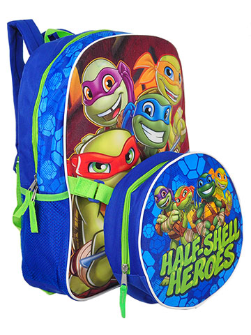 TMNT Backpack with Lunchbox - CookiesKids.com