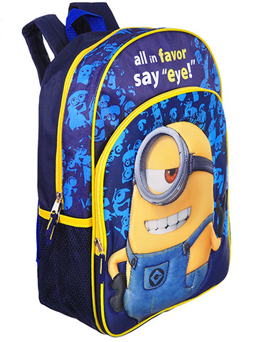 Despicable Me Backpack - CookiesKids.com