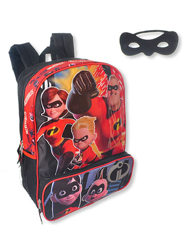 Disney Incredibles 2 Backpack with Eyemask - CookiesKids.com