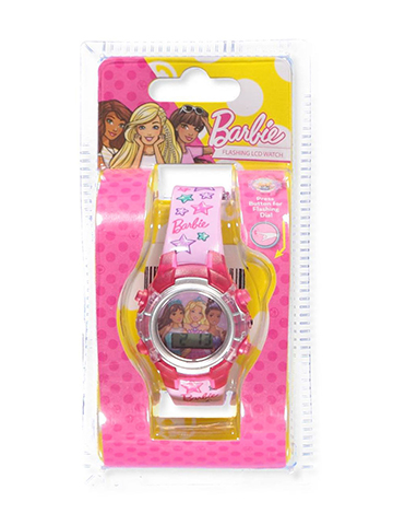 Barbie Flashing LCD Watch - CookiesKids.com