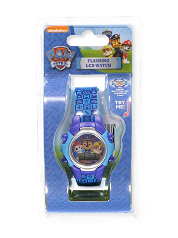 Paw Patrol Flashing LCD Watch - CookiesKids.com