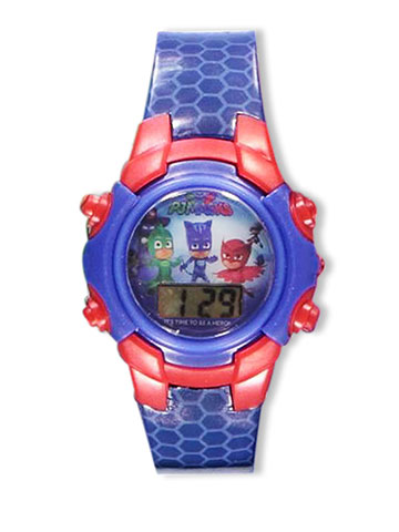 PJ Masks Flashing LCD Watch - CookiesKids.com
