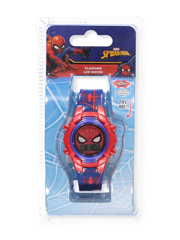 Spider-Man Flashing LCD Watch - CookiesKids.com