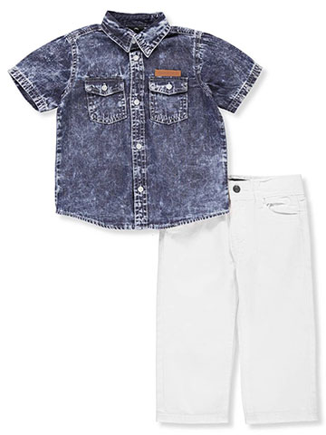 Akademiks Baby Boys' 2-Piece Pants Set Outfit - CookiesKids.com