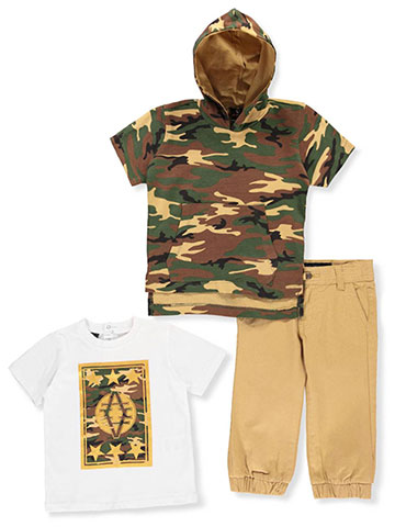 Akademiks Baby Boys' 3-Piece Pants Set Outfit - CookiesKids.com