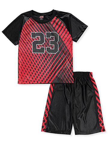 Mad Game Boys' 2-Piece Short Set Outfit - CookiesKids.com