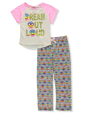 Sweet n Sassy Girls' 2-Piece Pajamas - CookiesKids.com