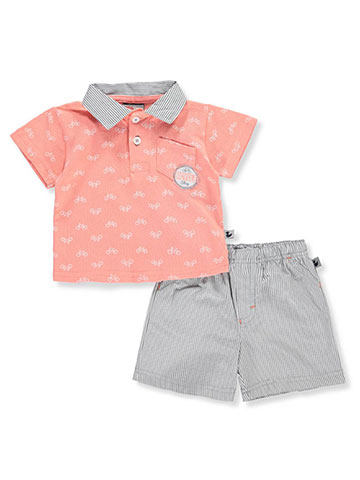 DDG Sport Baby Boys' 2-Piece Short Set Outfit - CookiesKids.com